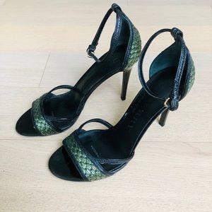 BURBERRY PRORSUM Black Stiletto Heel -sz 39 (US 9)
